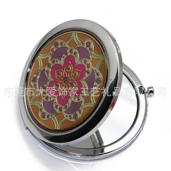 欧式花形化妆镜