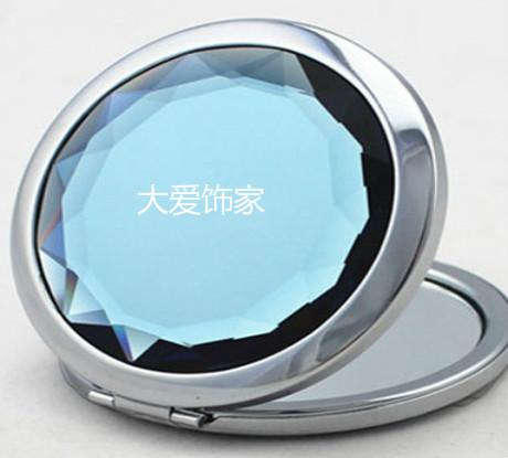 大爱饰家定制的水晶广告镜子不错
