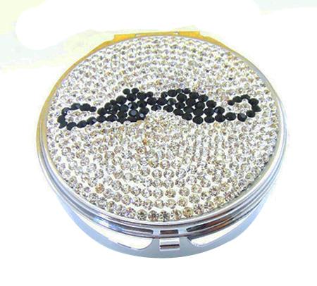 水晶化妆镜 DAMT-001 贴钻化妆镜