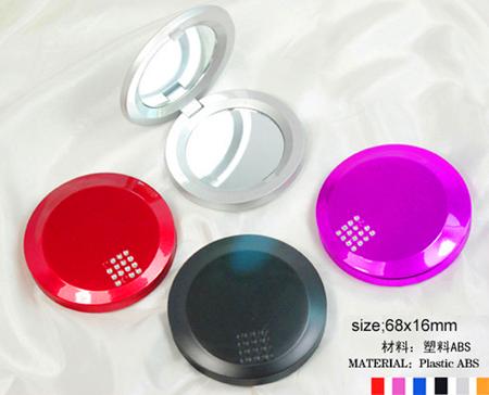 塑胶化妆镜 圆形化妆镜 简易化妆镜生产厂家