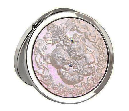 合金面化妆镜 DAMT-0039 贴钻化妆镜