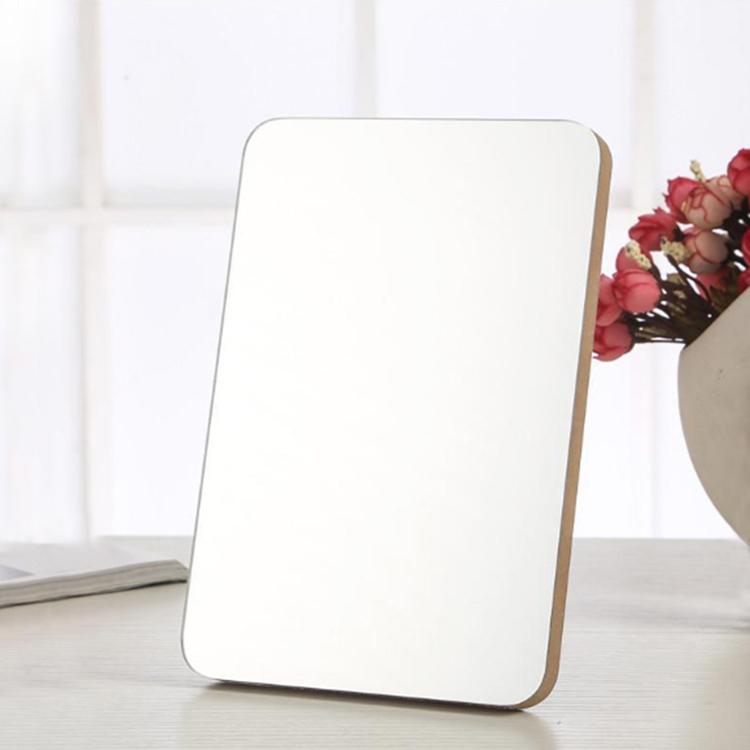大爱饰家木质台镜定制 全屏木头台式镜子