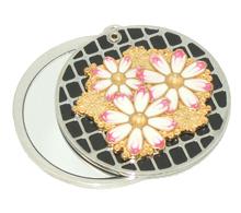 合金镜子生产厂家 锌合金化妆镜