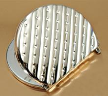 铁质化妆镜 DSJ-010   双面化妆镜生产厂家