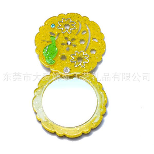 塑料化亚克力折叠妆镜定制