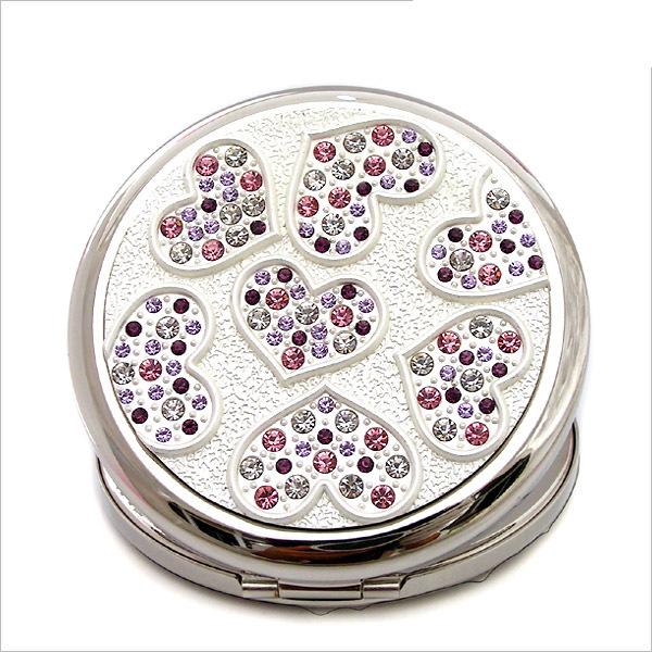 随身化妆镜|圆形化妆镜|水晶化妆镜生产厂家