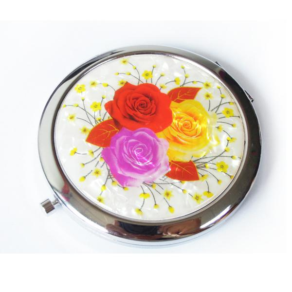不锈铁化妆镜厂家  DAMT-0022 礼品化妆镜