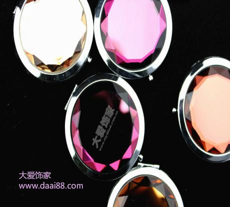 水晶化妆镜定制批发价格合理