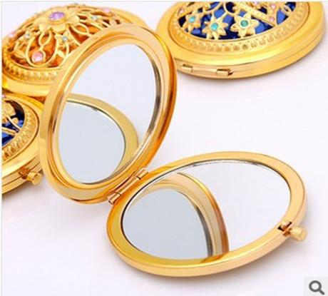 新款锌合金化妆镜产品