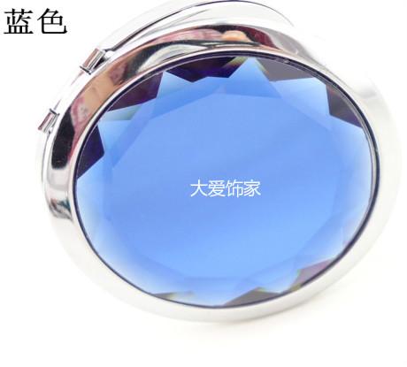 水晶化妆镜定制 大爱饰家