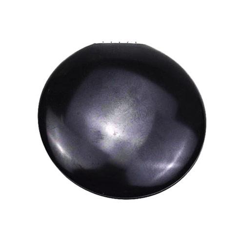 黑色圆形广告促销铝化妆镜 轻巧金属礼品镜