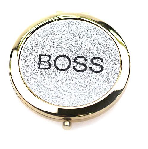 BOSS礼品化妆镜生产 东莞礼品镜厂家