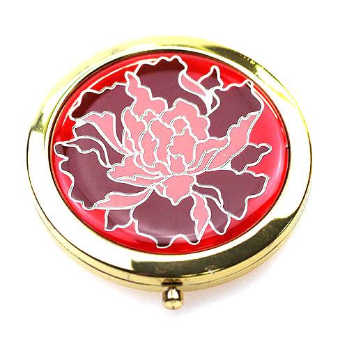出口金属礼品化妆镜工厂  锌合金高档小镜子定制
