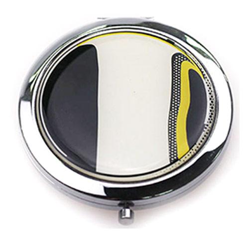 礼品随身镜生产厂家 双面折叠随身镜定制