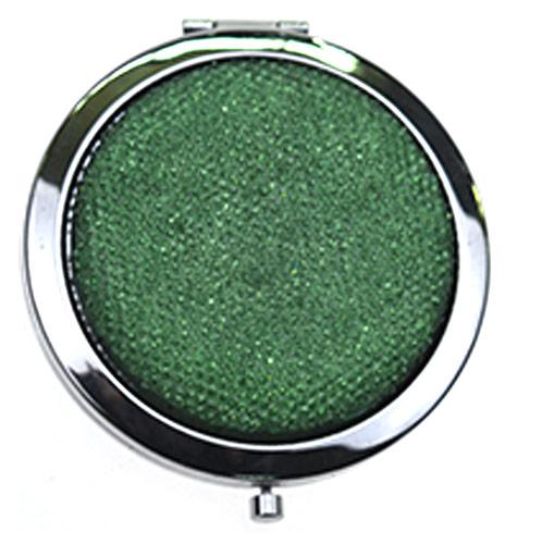 厂家定制布艺化妆镜 便携随身镜 礼品镜
