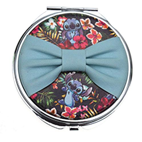 布艺铝合金化妆镜 促销赠品折叠化妆镜 卡通创意镜