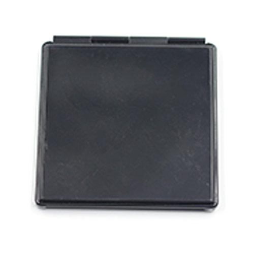 化妆礼品铝合金化妆镜 黑色方形礼品镜 厂家定制