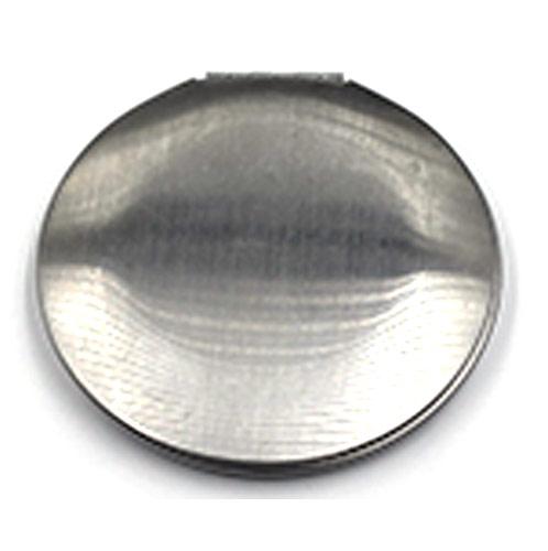 礼品随身镜定制  简洁铝化妆镜
