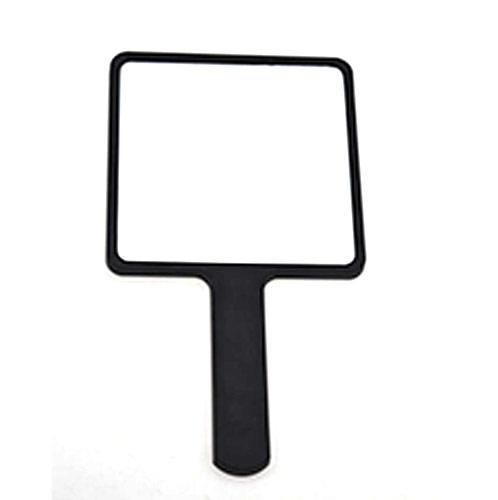 促销化妆镜生产 手柄塑胶单面镜