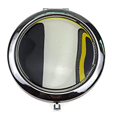 化妆礼品化妆镜 贴纸不锈铁圆形礼品镜