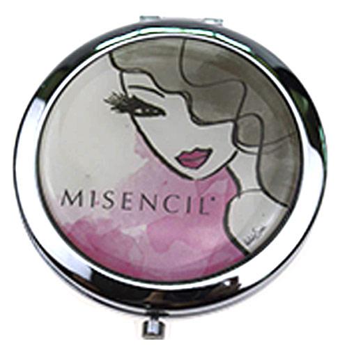 促销随身镜定制 化妆品赠品镜  OEM定制