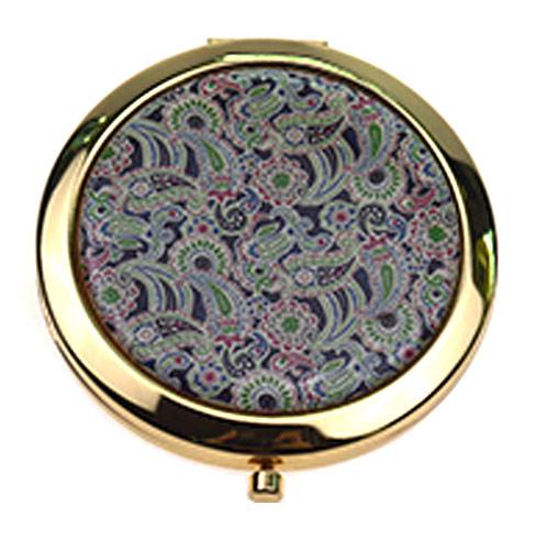 高档金属化妆镜  圆形不锈铁促销礼品镜  厂家定制