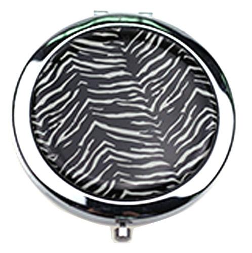 圆形滴胶化妆镜 双面折叠小镜子定制厂家
