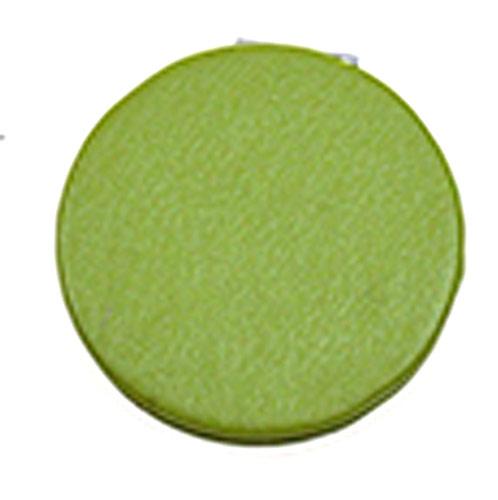 大爱折叠化妆镜  清新绿PU皮革随身便携镜