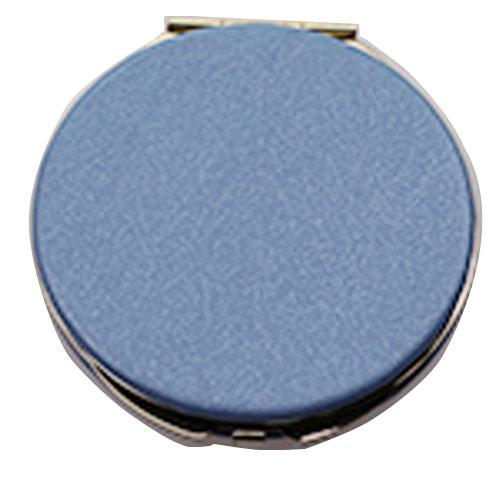 PU皮革折叠化妆镜生产厂家  便携随身折叠OEM定制