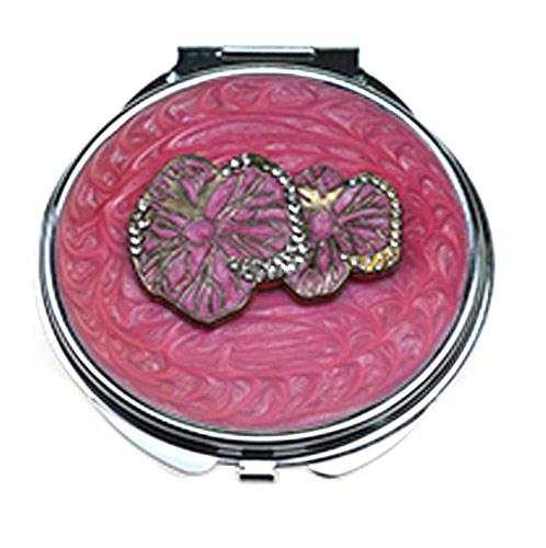合金压铸不锈铁化妆镜 简易双面化妆镜定制厂家