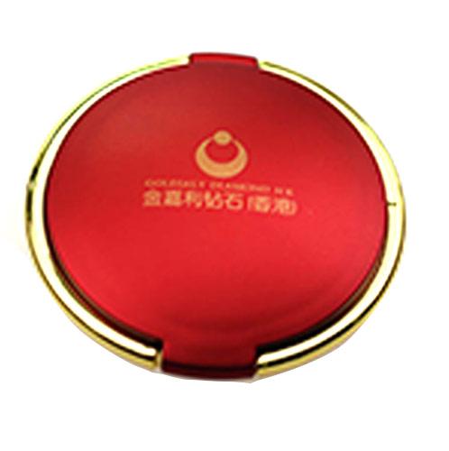 厂家定制古典金属化妆镜 塑料双面美容镜子