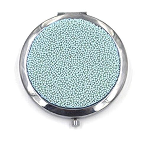 大爱饰家精美金属化妆镜  圆形便携化妆镜小镜子
