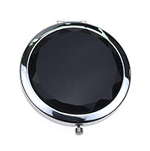 定制商务礼品水晶化妆镜 镀银礼品小镜子