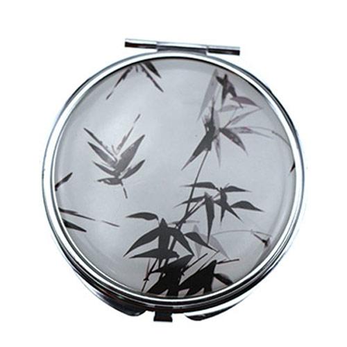 东莞pu皮革立式化妆镜 双面化妆镜定制
