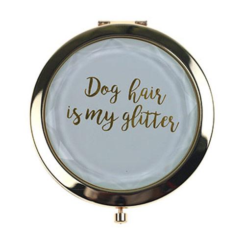 金属水晶化妆镜  双面折叠水晶小镜子定制厂家
