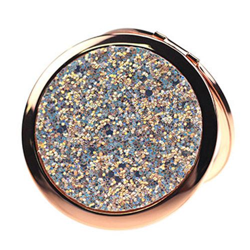 金属化妆镜定制 精美便携化妆镜礼品