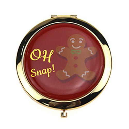 滴胶化妆镜 商务礼品镜 随身小镜子OEM定制