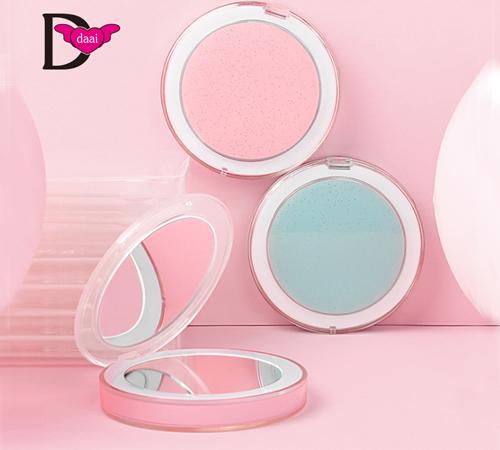 大爱饰家LED随身镜充电式带灯镜子 折叠LED化妆镜
