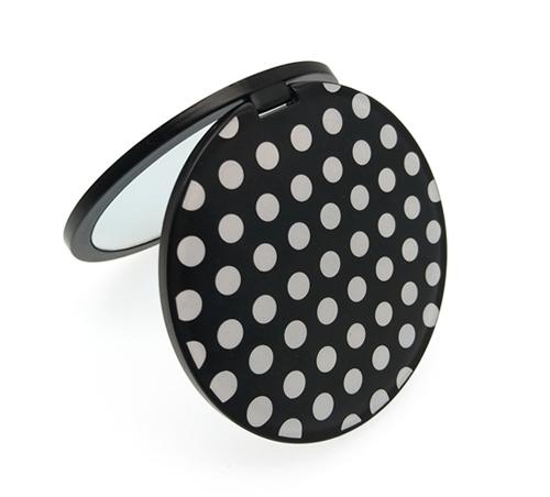 促销礼品折叠塑胶小镜子厂家定制便携补妆口袋镜