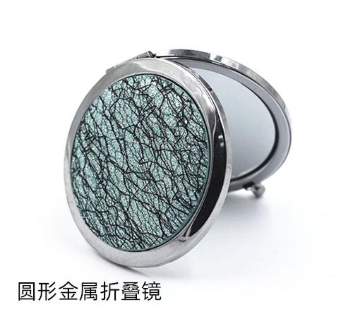 经典不过时的礼赠品小镜子工厂定制圆形金属折叠镜